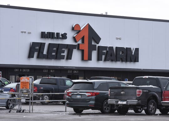 The Fleet Farm store is pictured Wednesday, Jan. 2, in Waite Park. The store will be undergoing a remodeling and expansion project beginning Monday.