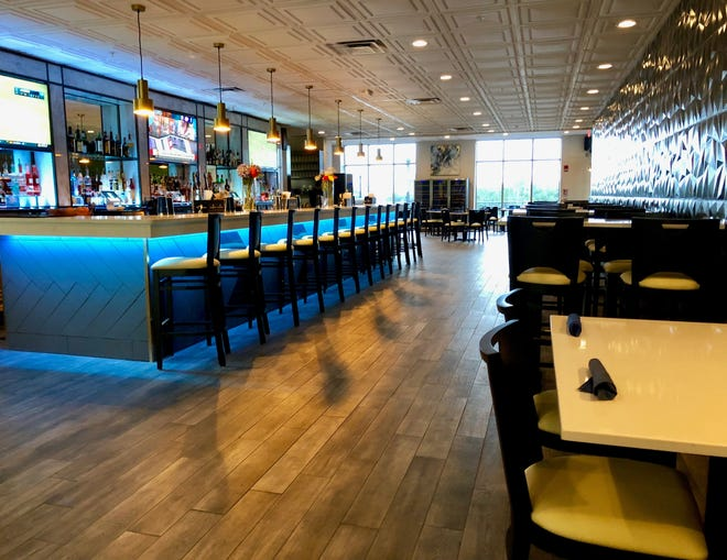 Aura Restaurant and Bar, located in Kleman Plaza, features lunch, dinner, Sunday brunch, happy hour and Wine Down Wednesday gatherings