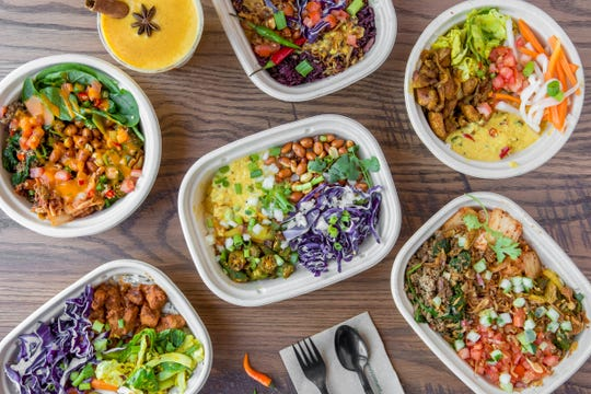 Rik-Sha Tacos on Pensacola Street offers Asian street tacos, bowls and open-face burritos.