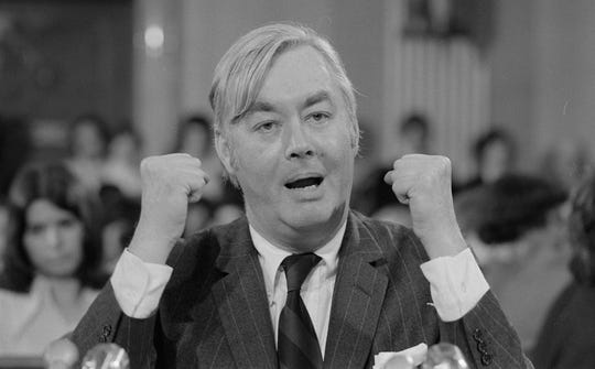A new documentary follows the life and work of Daniel Patrick Moynihan, the senator from New York.