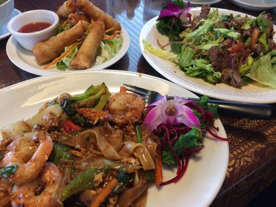 Thai Orchid and Sushi Bar, which opened in November on Apalachee Parkway, features an extensive menu at lunch and dinner.