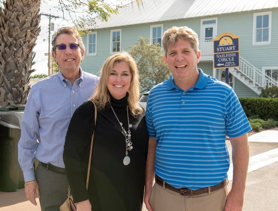 From left are John Gonzalez, Stacy Hetherington and Doug Fitzwater.