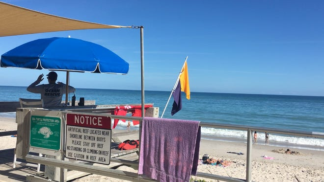 Cocaine washed up on Humiston Beach Park in Vero Beach on Dec. 28