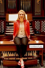 Jillian Gardner will present an organ recital sponsored by Treasure Coast Chapter of the American Guild of Organists at 7 p.m. Jan. 25 at at First Baptist Church, 2206 16th Ave., Vero Beach.