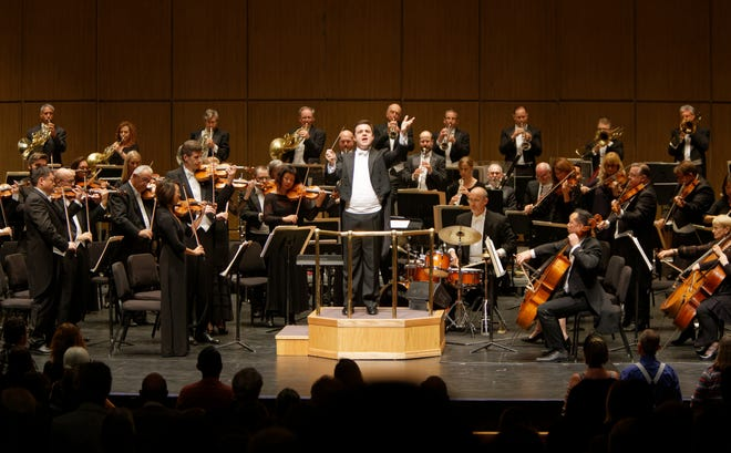 Michael Christie has been named the new music director of the New West Symphony Orchestra