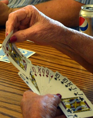 Vineland Senior Center offers a variety of activities, for ages 55 and older, including Pinochle, yoga, board games and art.