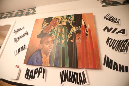 Kwanzaa Celebration In Garnerville