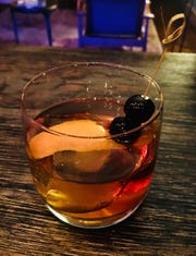 The Old Fashioned at The Roundhouse in Beacon is made with Kopke tawny port.