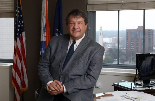 Westchester County Executive George Latimer in his office Dec. 24, 2018 in the County Office Building in White Plains.