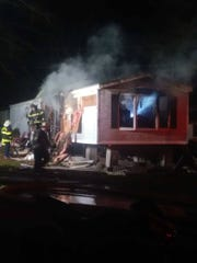 A Miquandale fire lost their home in a fire early Wednesday.