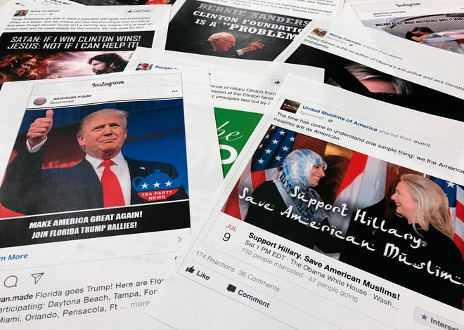 Facebook and Instagram ads linked to Russia
