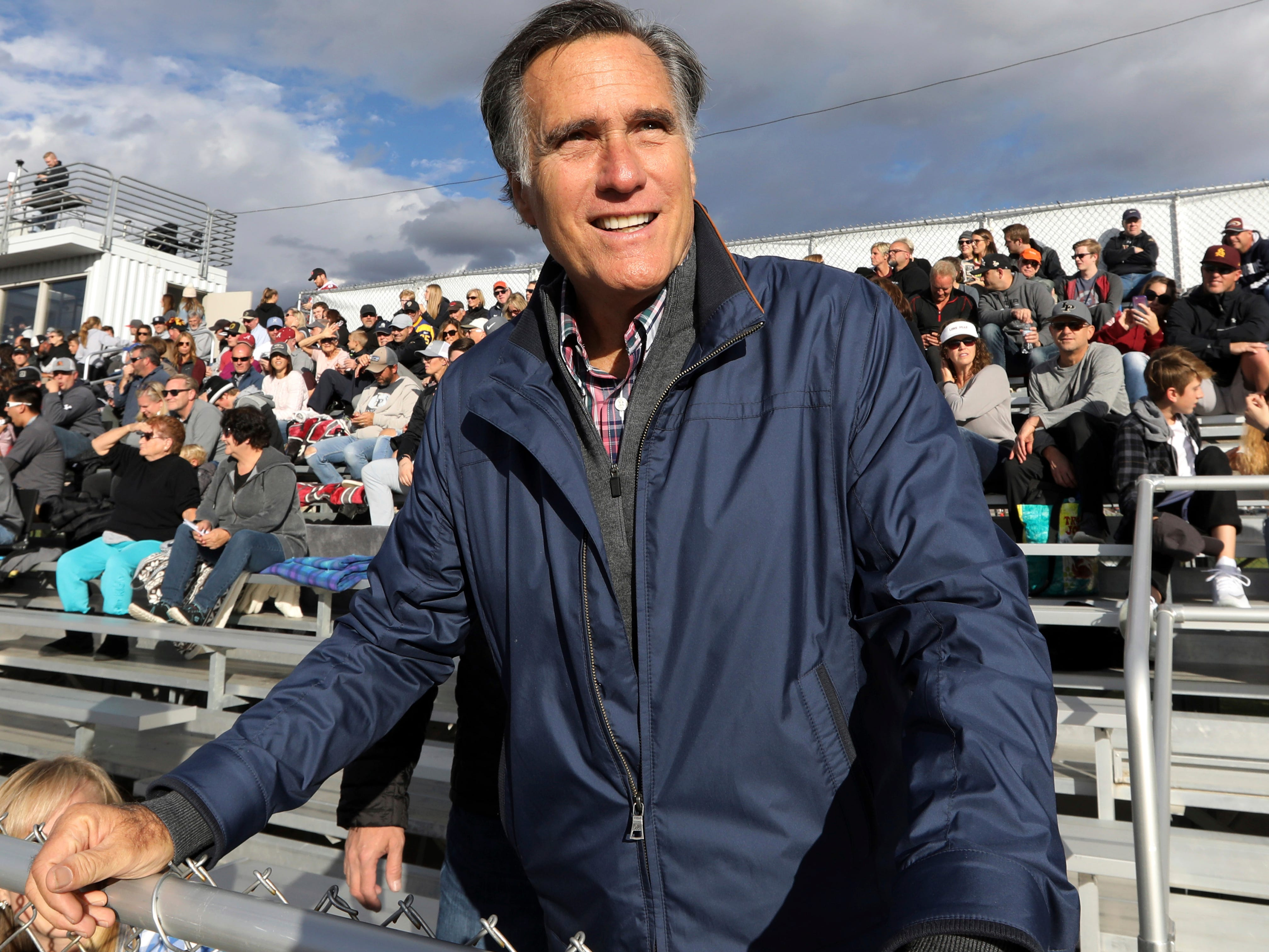 Mitt Romney on President Donald Trump: He hasn't 'risen to the mantle of the office'