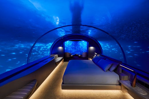 The Muraka At Conrad Maldives Rangali Island Underwater Hotel Suite