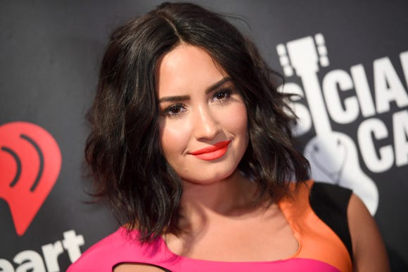 Demi Lovato took to Instagram to celebrate New Year's Eve and her sobriety.