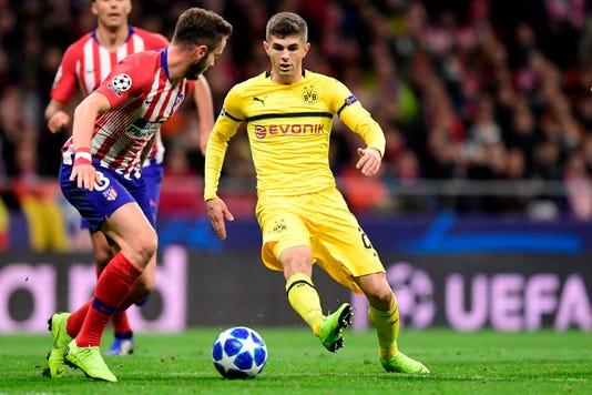 9dddcf773 Chelsea signs Christian Pulisic  U.S. star to remain at Dortmund
