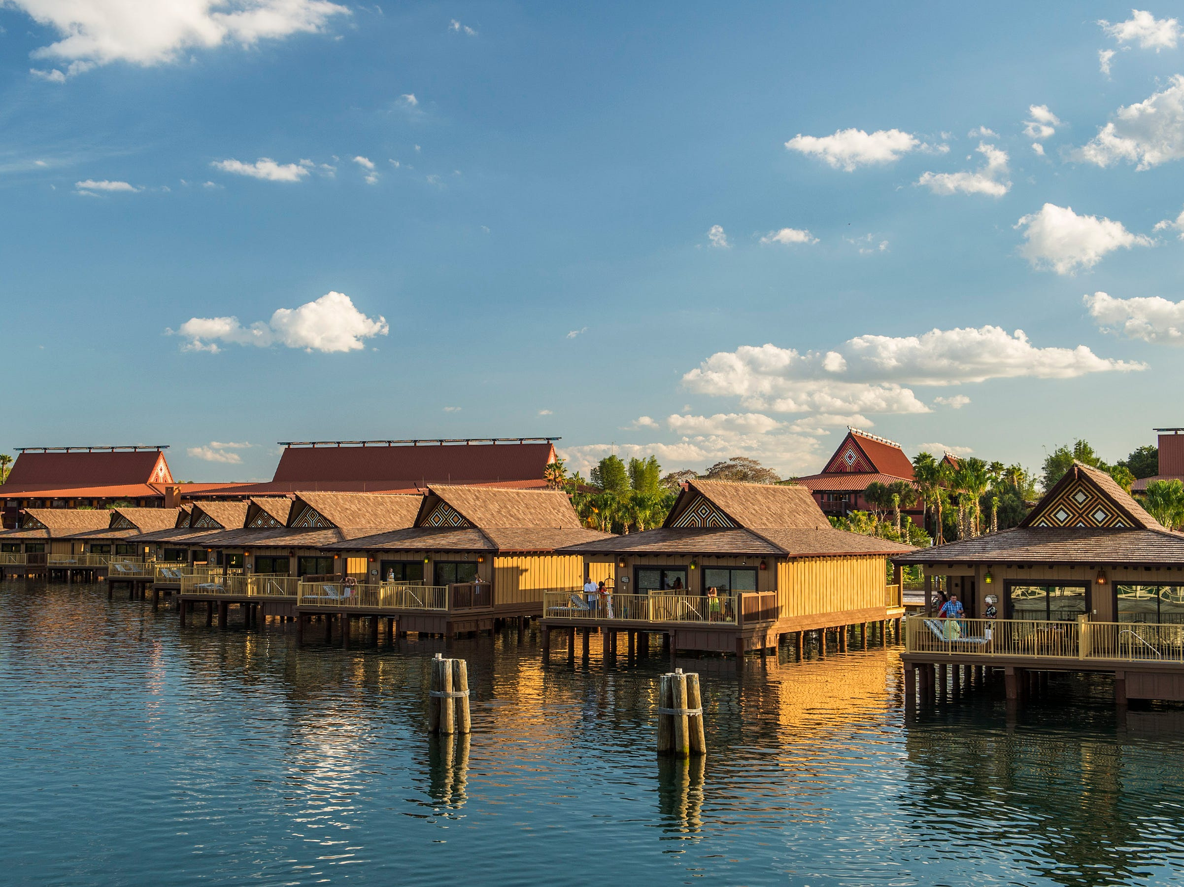 Orlando is one of Travelzoo's top picks for January. Flights from Atlanta start at $53 each way. The bungalows at the Polynesian Village Resort in Disney World are a popular spot.