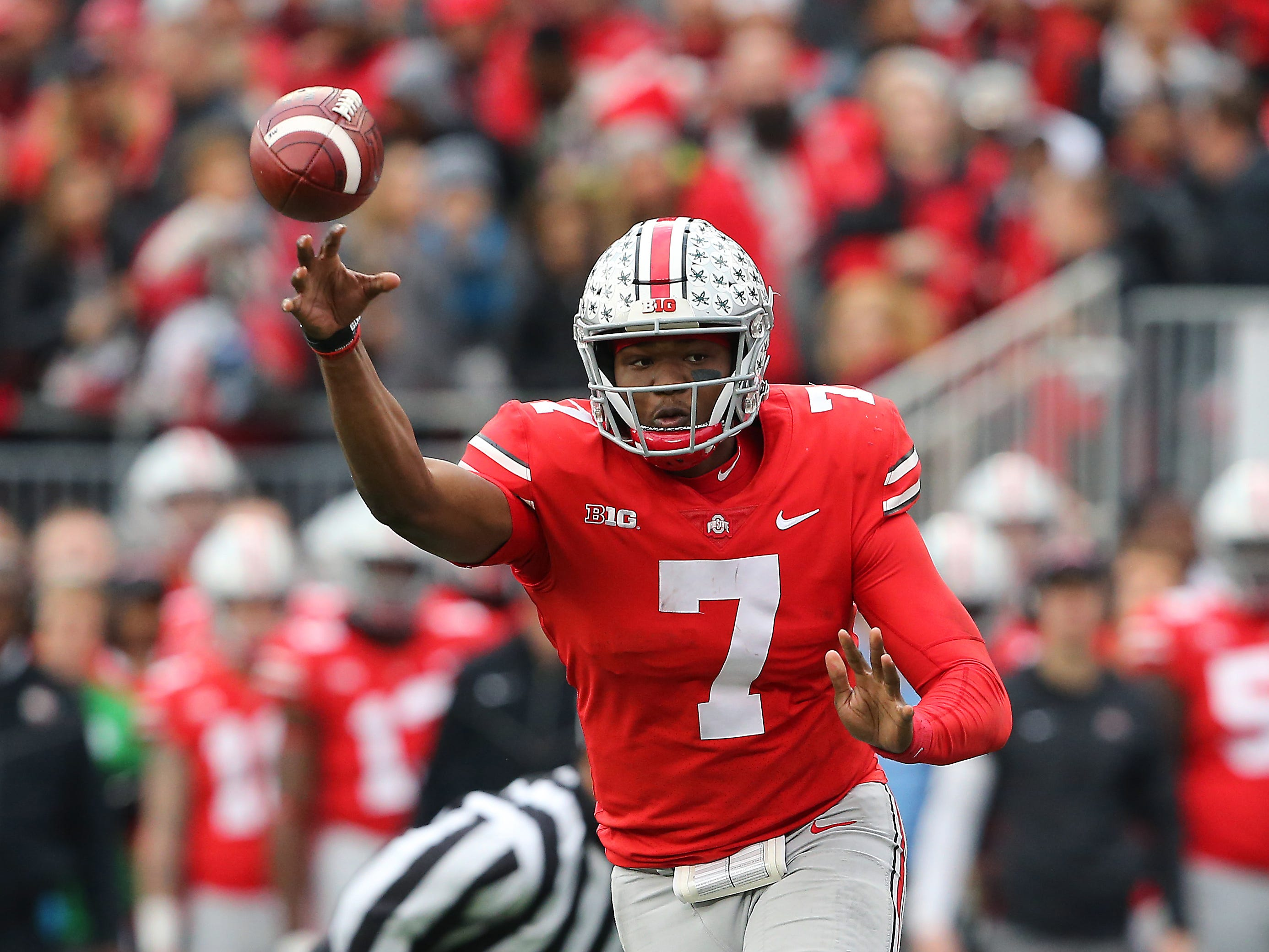 6. Giants — Dwayne Haskins, QB, Ohio State