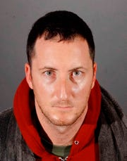 Benjamin Eitan Ackerman, 32, arrested by Los Angeles police in connection with burglaries of celebrity homes in Hollywood Hills.