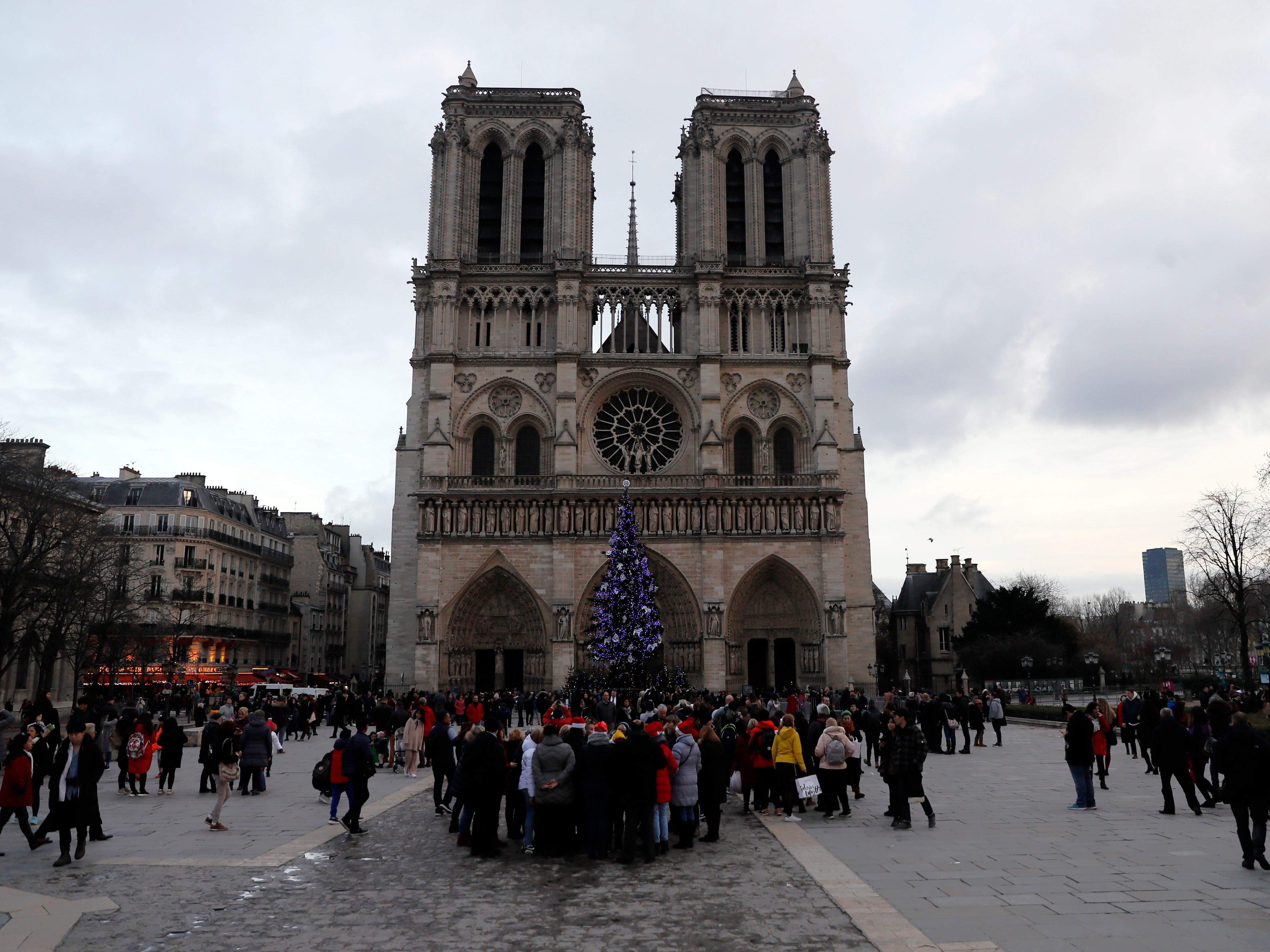 The Notre Dame Cathedral is one of the most famous sites in Paris. Travelzoo has named Paris a top affordable destination for January.