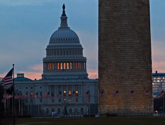 Government Shutdown Capitol Hill