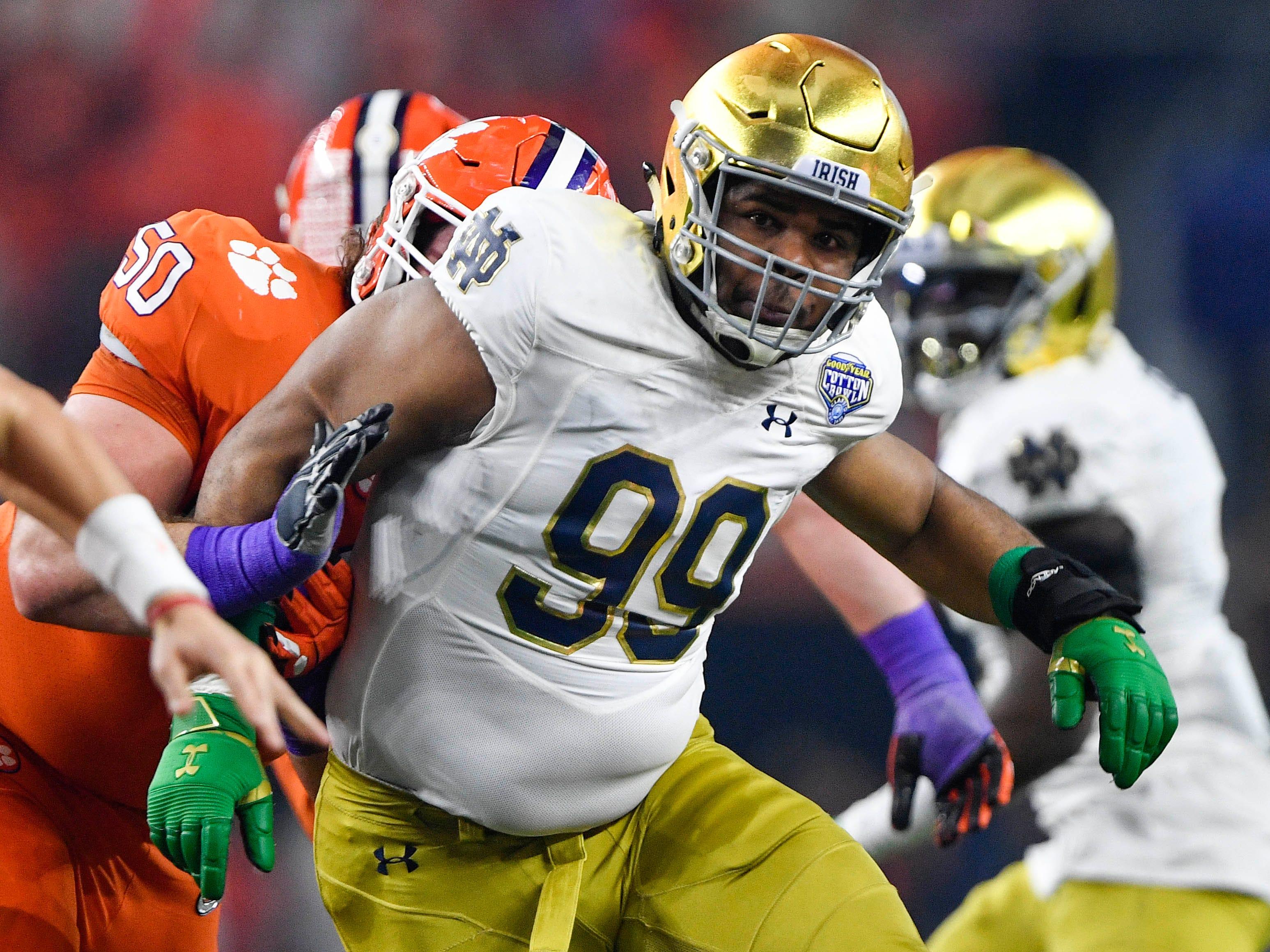 31. Rams — Jerry Tillery, DT, Notre Dame