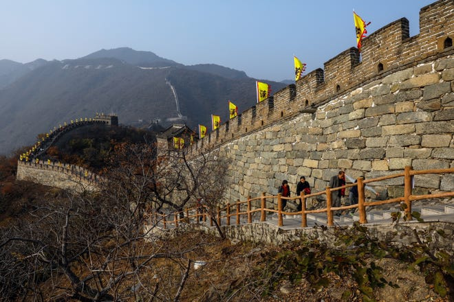 The U.S. State Department has issued a warning on travel to China. This is the Mutianyu Great Wall in Beijing.