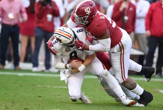 2. 49ers — Quinnen Williams, DT, Alabama