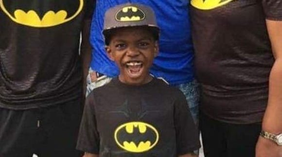 Cameron Scott, 9, loves all superheroes. But Batman is his favorite.