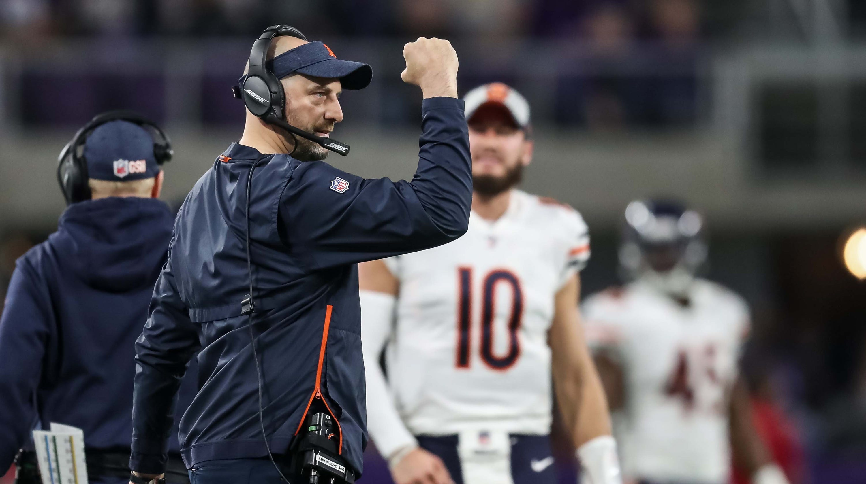 97538765 Chicago Bears find success with Matt Nagy after decades of losing