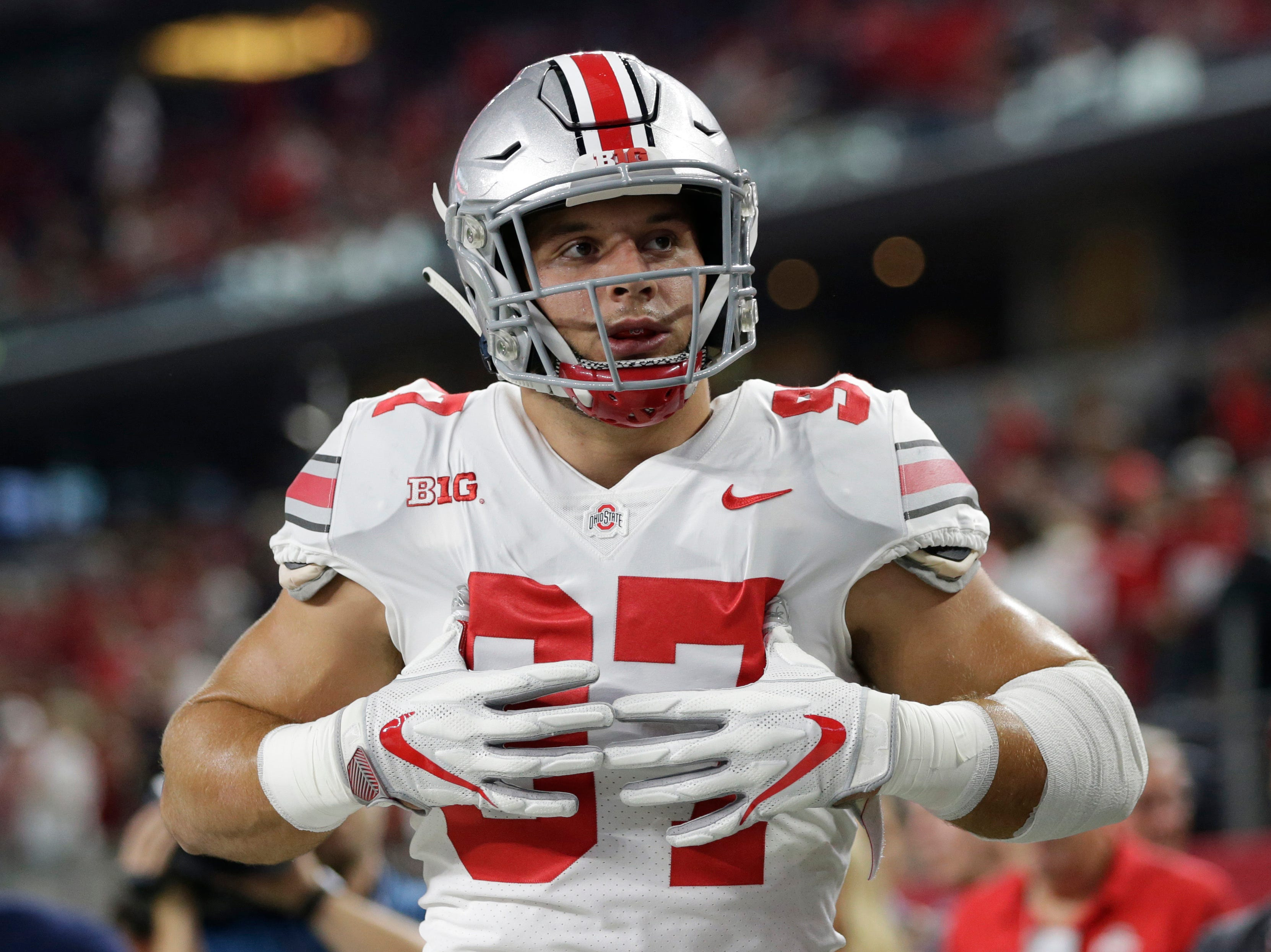 2. San Francisco 49ers — Nick Bosa, EDGE, Ohio State
