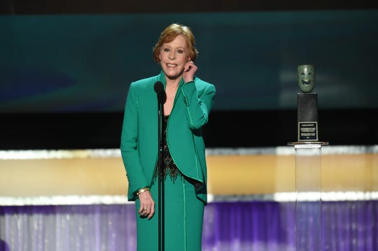 Carol Burnett will pick up the inaugural Carol Burnett Award at the Golden Globes, just the thing to go along with her Life Achievement Award from the Screen Actors Guild.