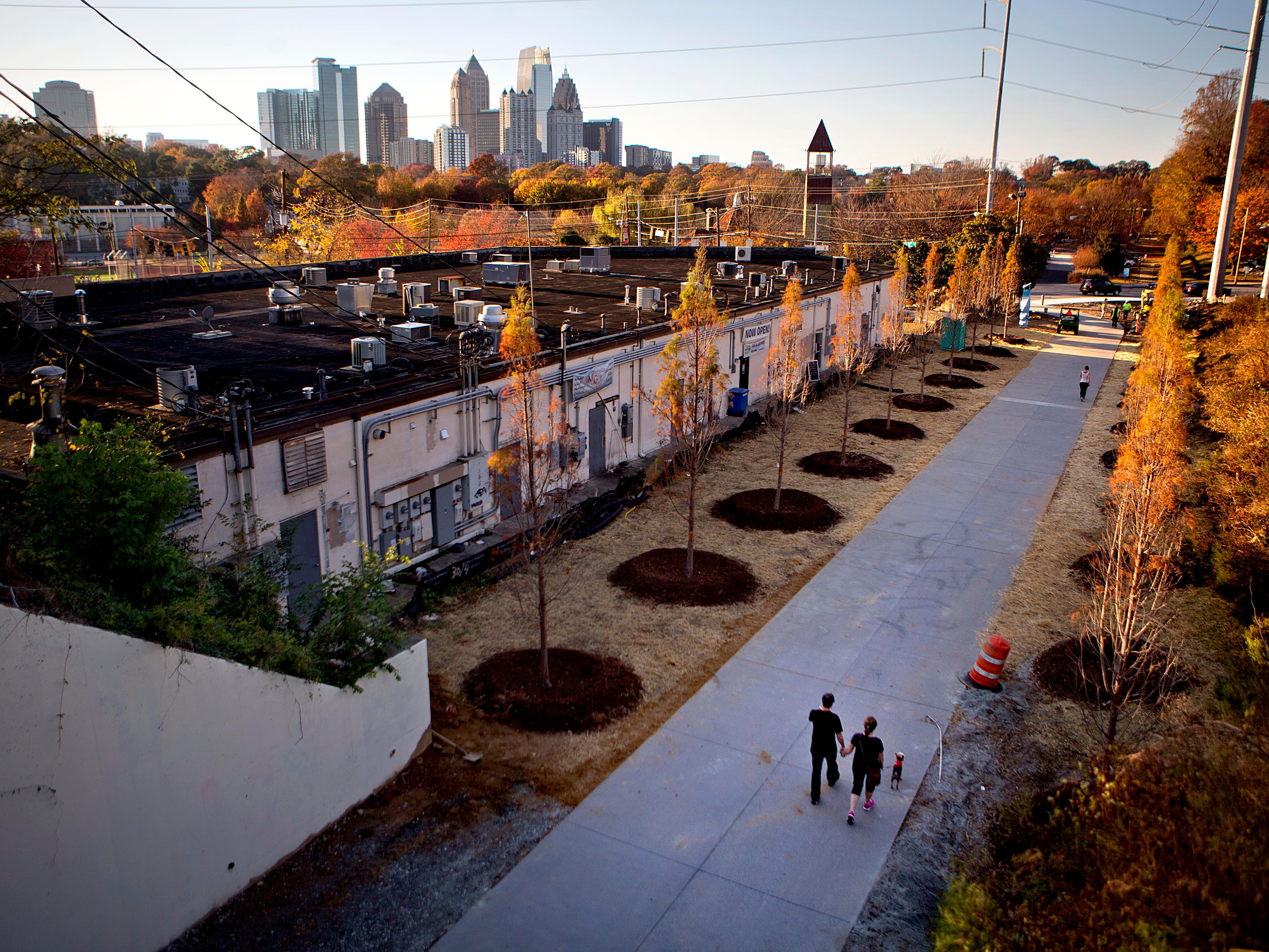 The Atlanta BeltLine is a 2.25-mile-long paved trail east of downtown that attracts a steady stream of joggers, dog-walkers and cyclists. Atlanta is one of Travelzoo's top picks for travel in January.