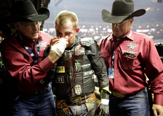 Your favorite athlete is not nearly as tough as a bull rider