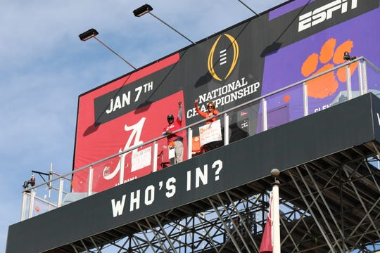 Nancy Godwin Volland is one of two superfans remaining on the playoff billboard.