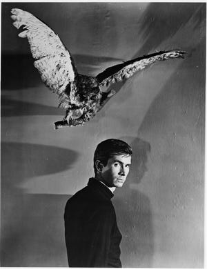 """Anthony Perkins payed Norman Bates in Alfred Hitchcock's horror classic """"Psycho."""" The character was created by Robert Bloch in Weyauwega."""