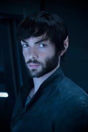 Ep #207 - Pictured: Ethan Peck as Spock of the CBS All Access series STAR TREK: DISCOVERY.