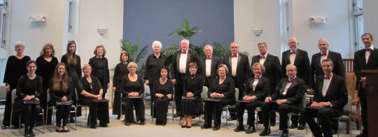 The Shrewsbury Chorale performs in December.