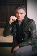 "Anson Mount plays Capt. Christopher Pike on the CBS All Access series, ""Star Trek: Discovery."" The cast of the show had a photo shoot in New York in October 2018."