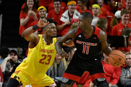 Ncaa Basketball Rutgers At Maryland
