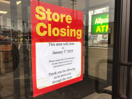 A branch of CVS Pharmacy, located on 68 Main Street in Binghamton, announced its closing in on signs posted on the pharmacy's doors.