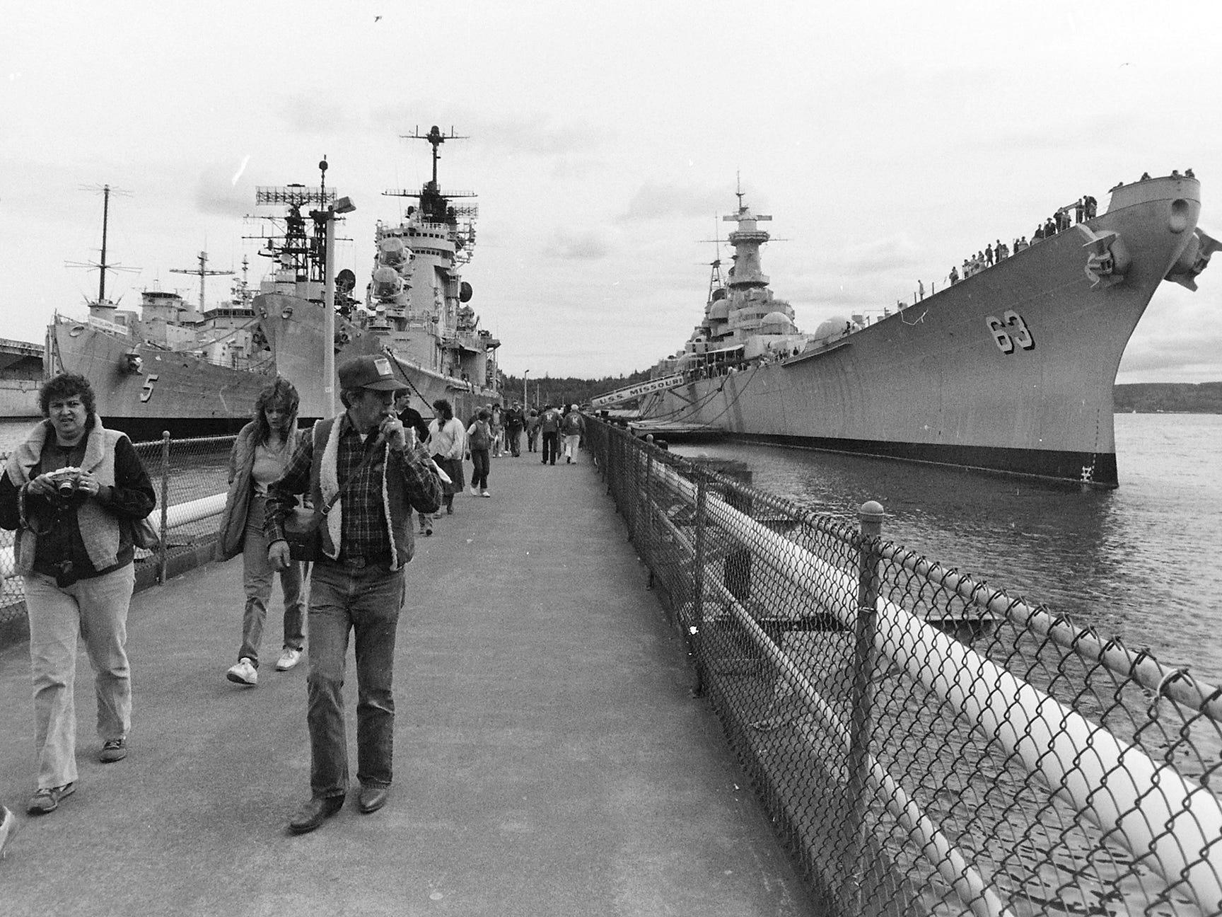 04/30/84Last Day On The USS Missouri