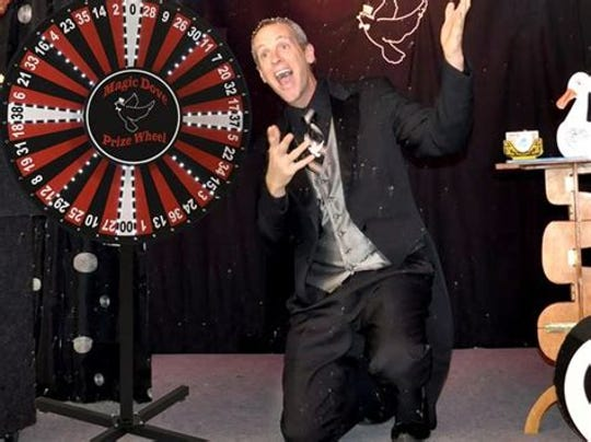 Dan Ezell, owner of the Magic Dove Magic Shop, is once again putting on the Florida Magician of the Year contest in Cocoa Village. The event begins at 2 p.m. Jan. 13 in at the Historic Cocoa Village Playhouse.