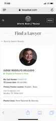 Judge Roldolfo Delgado was suspended without pay by the State Commission on Judicial Conduct on Jan. 2, 2019.