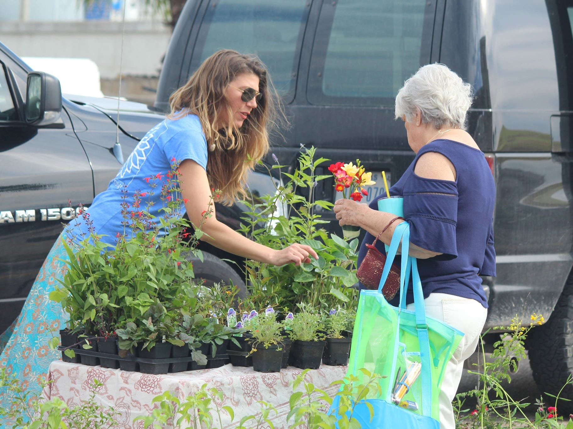 Shoppers can find a variety of seasonal produce at the Corpus Christi Downtown Farmers Market. It is open Wednesdays from 5 to 8 pm at 100 N. Shoreline Blvd.