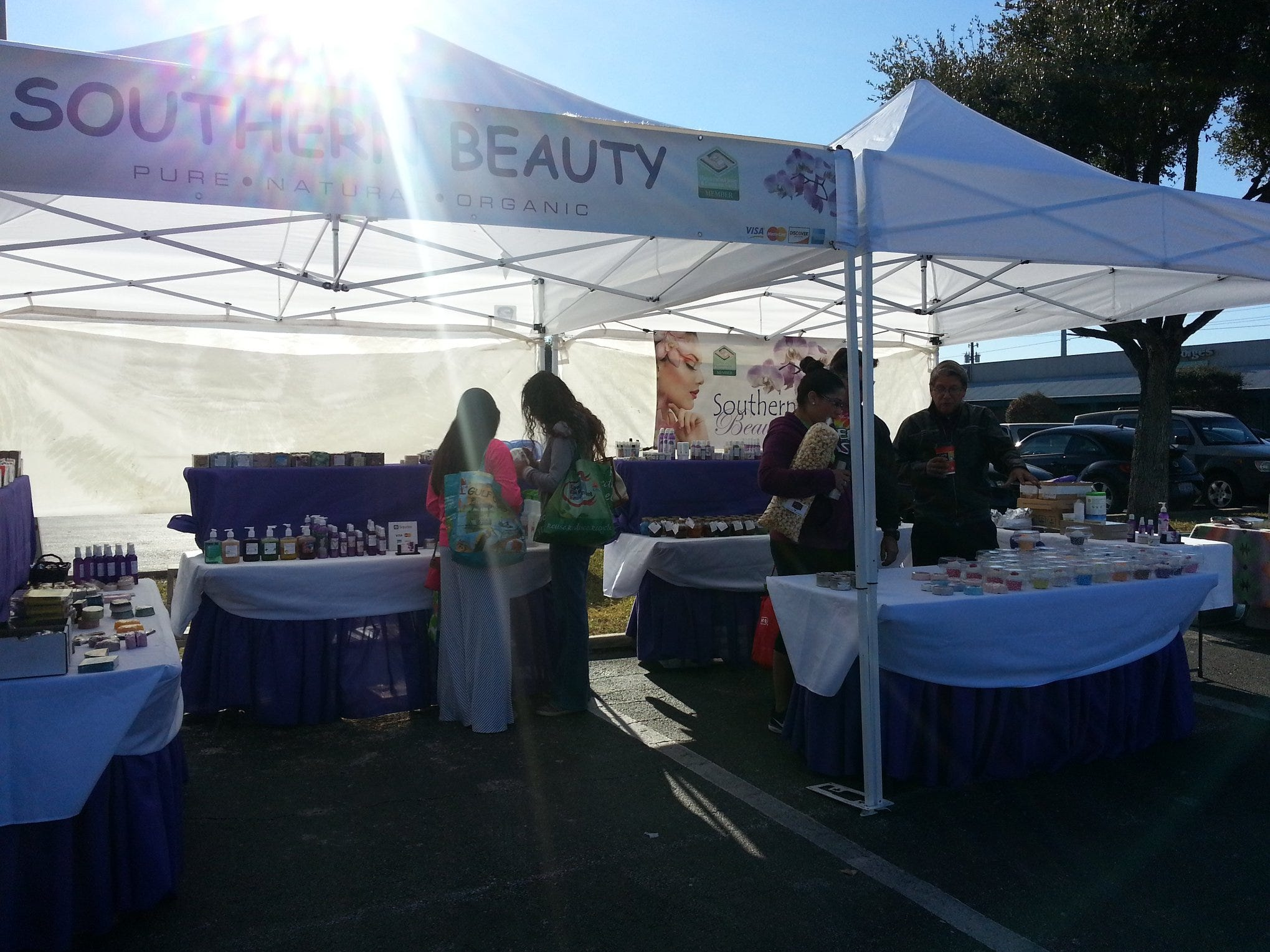 Shoppers can find a variety of beauty care products at the Corpus Christi Southside Farmers' Market. It is open Saturdays from 9 a.m. to noon at 5800 Everhart Road.