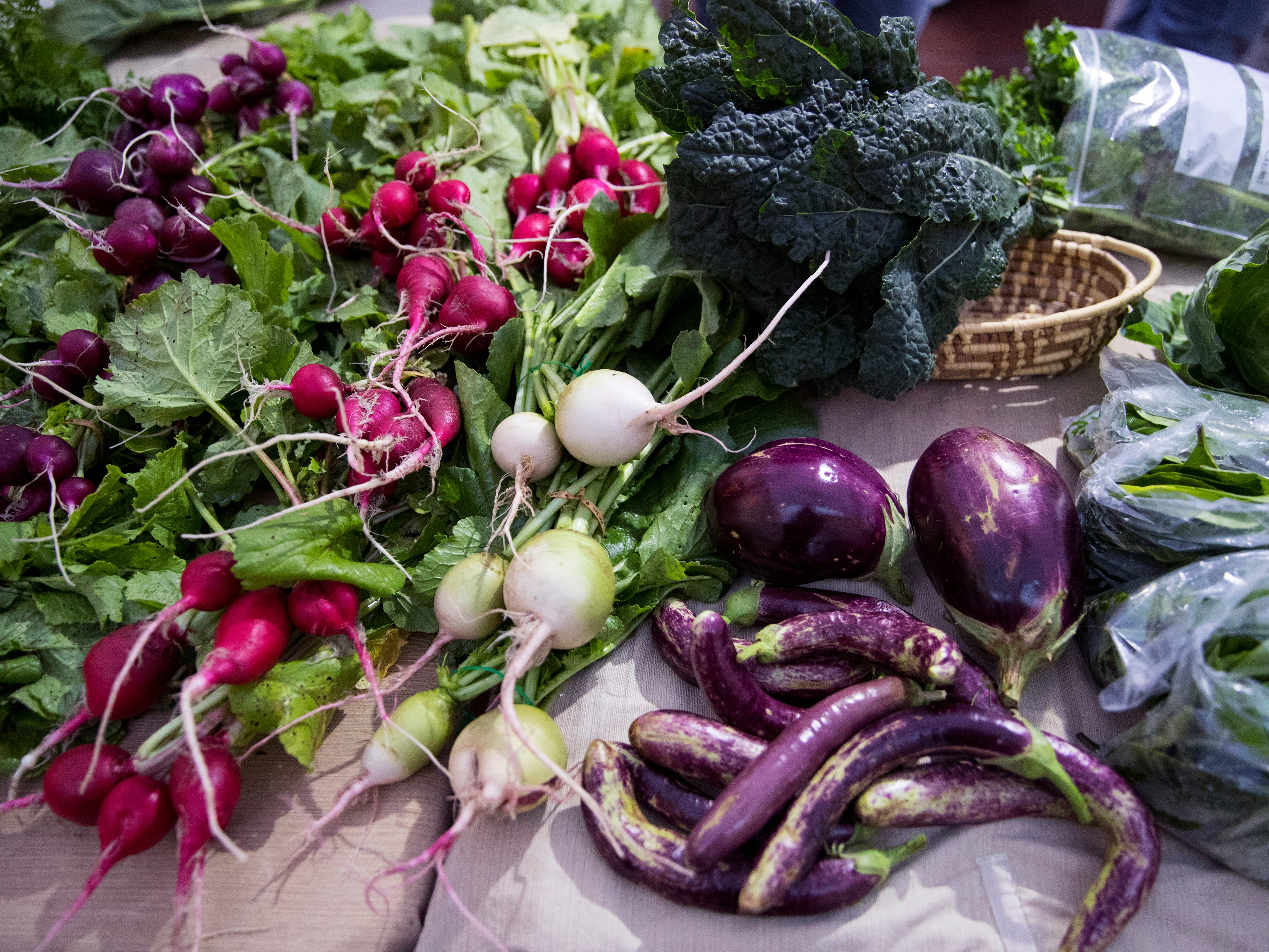 The Corpus Christi Downtown Farmers Market offers a variety of seasonal produce. It is open weekly on Wednesday from 5 to 8 pm at 100 N. Shoreline Blvd.