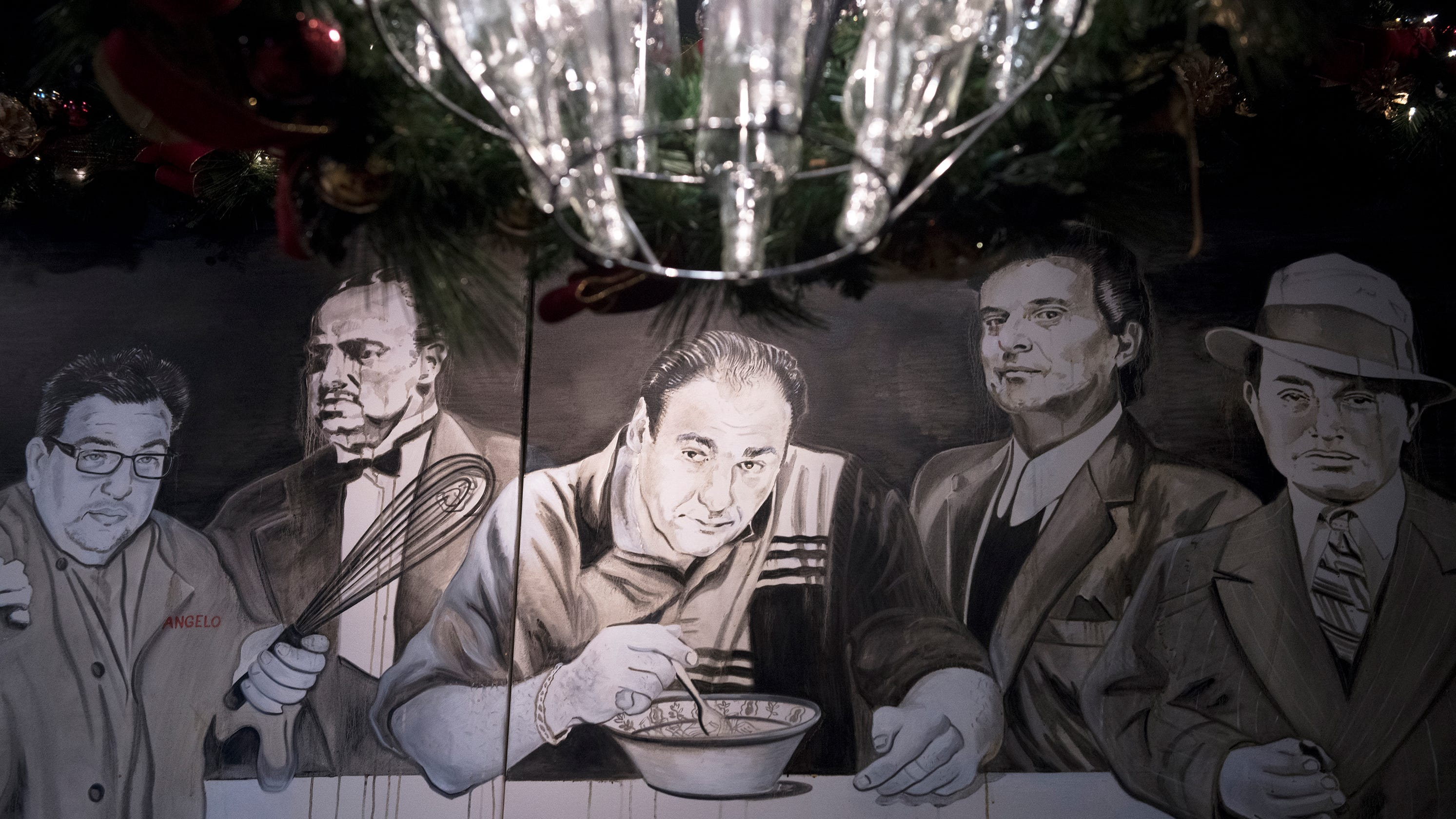 Pass the ziti, take the cannoli: 'The Sopranos' is a