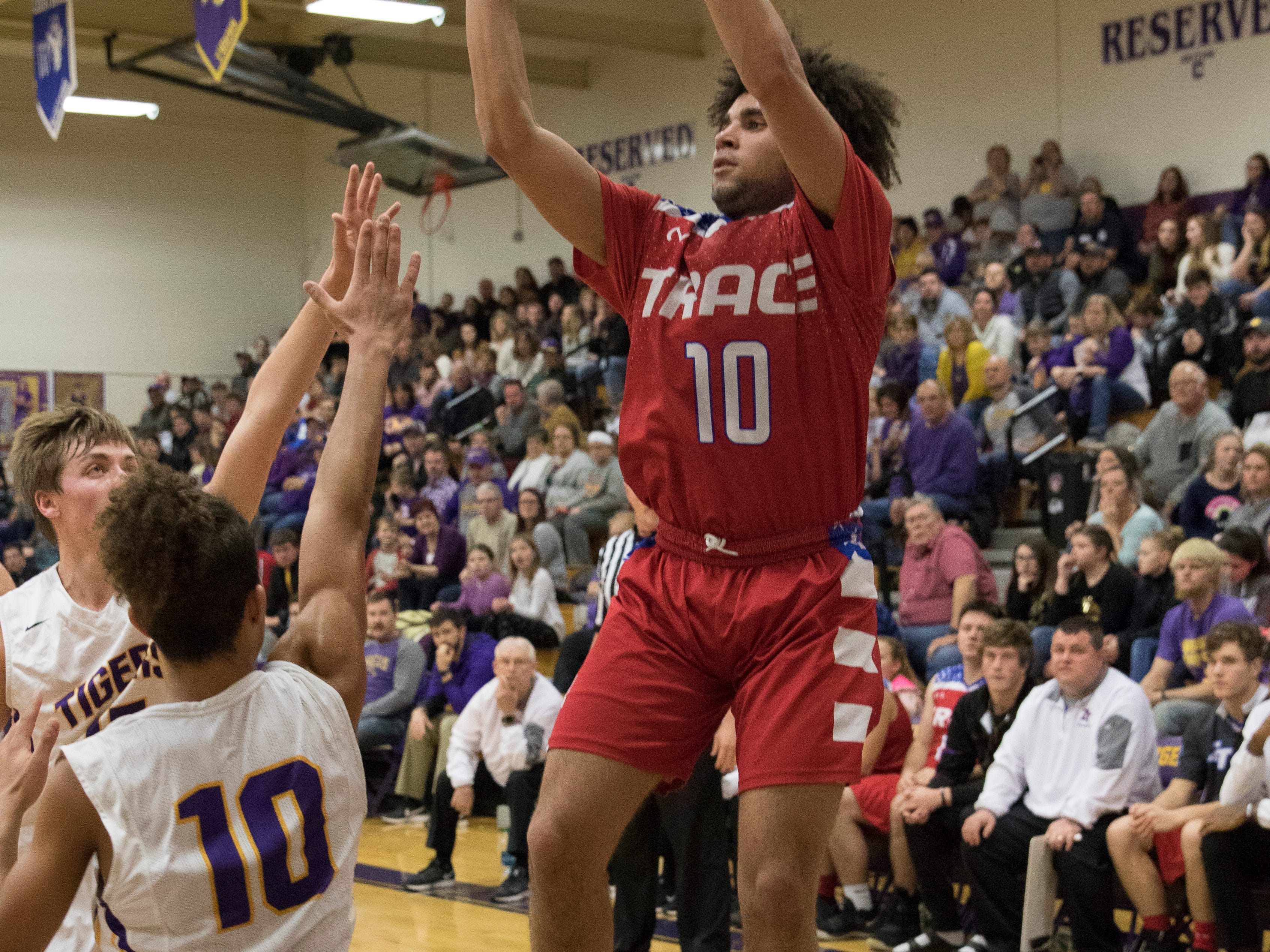 McClain defeated Zane Trace Wednesday night 61-60 in overtime at McClain High School in Greenfield, Ohio.