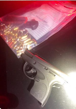 A gun and ammunition was among the items seized after an alleged hostage situation in Pike County on New Year's night.