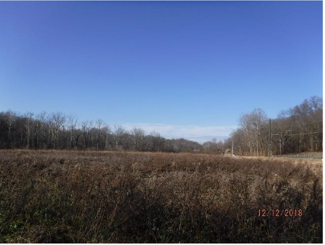 Open field along Clough Pike in Anderson Township near site for proposed Harmony Senior Living Center of Anderson.